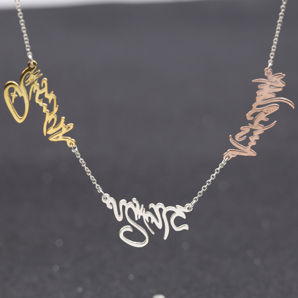 Popular Personalized Name Pendant Necklace-Buy Cheap Personalized ...