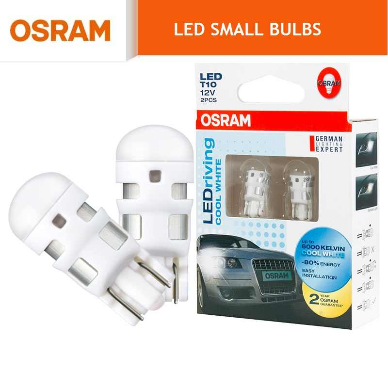 OSRAM LED Turn Signal Light Interior Light Bulbs T10 W5W T20 W21W WY21W W21/5W S25 P21W P21/5W PY21W