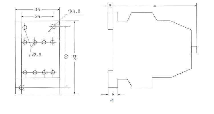 HTB1JTl2XifrK1RjSspbq6A4pFXa4 - Contact Intermediate Relay JZC1-44 220V/380V/110V/24V Silver Point Relay 4NO+4NC