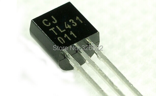 100pcs TL431A TL431 TO-92 Programmable Voltage Reference ...