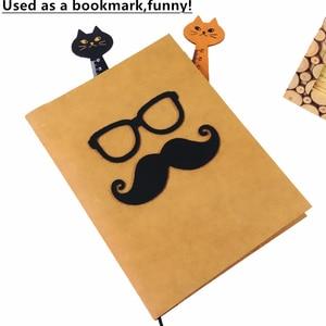 Image 5 - 24 개/몫 빈티지 귀여운 동물 나무 눈금자 사랑스러운 고양이 모양 눈금자 선물 학교 용품 문구 용품 도매