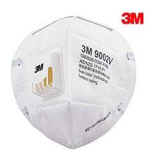 5 шт. 3 м 9002V анти пыли PM 2,5 маска против гриппа дыхательный клапан нетканый материал маска для взрослых KN90 респиратор