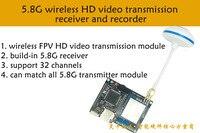 LCR600_Upgrade 2,0 Fpv печатной платы 5,8 Г 5,8 ГГц 600 МВт Каналы Беспроводной A/v передатчик для Dji Phantom Gopro sj4000