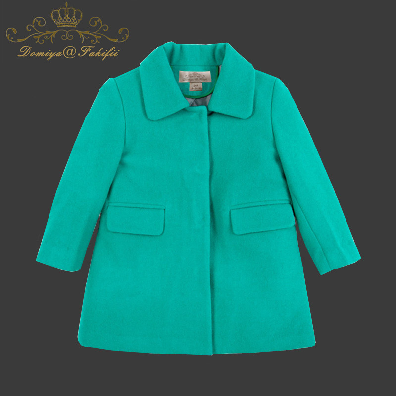 2018 Winter Warm Thick Girls Clothes Children Outwear For Baby Girls Clothing Wool Coats Costume Long Sleeve Jackets For Girl spring kids clothes pu leather girls leather dress jackets children outwear for baby girls clothing coats costume 3 13years