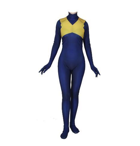 X-men: Jean Phoenix foncé gris Costume Cosplay combinaison veste uniforme Costume pour femmes filles Halloween carnaval Costumes