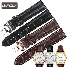 Genuine Leather Top Grade Padded Watch Strap for  Alligator Grain Watchband for Maurice Lacroix  Bracelet for Lum  все цены