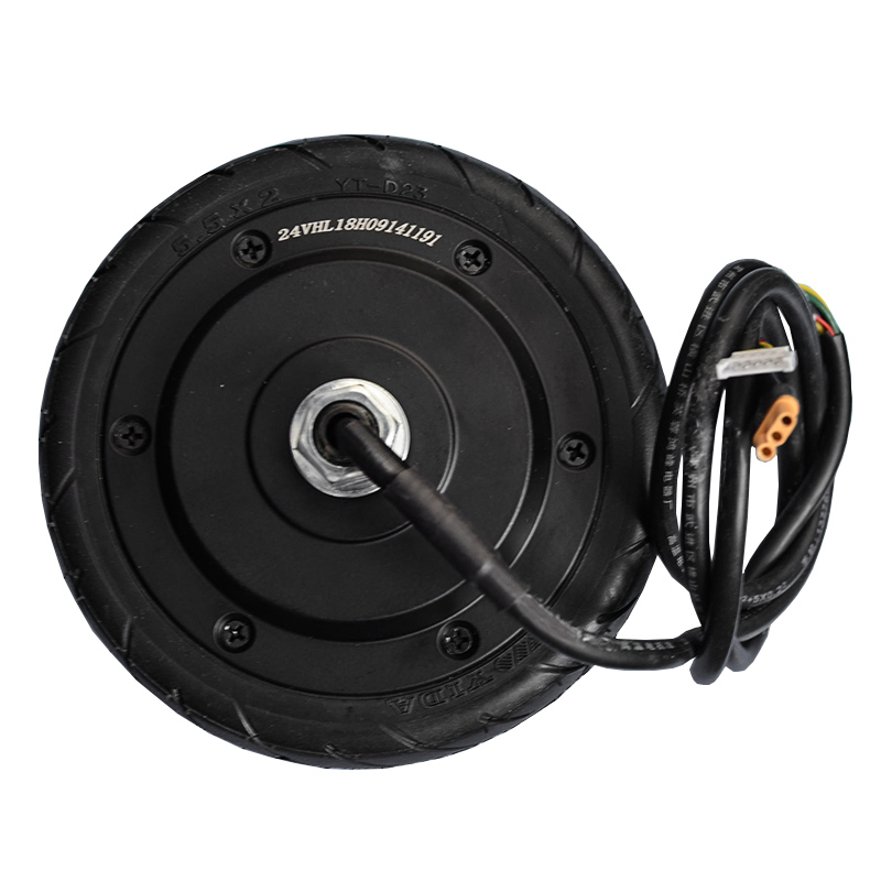 New factory 5.5inch 1 wheel <font><b>electric</b></font> <font><b>scooter</b></font> motor <font><b>250W</b></font> DC24V factory cheap price for hot sale hub motor image