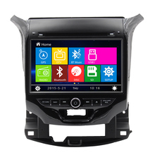 Free Shipping 8 inch Car Radio DVD Multimedia Player GPS Navigation for CHEVROLET CRUZE 2015 with TPMS Ipod BT A2DP Radio RDS