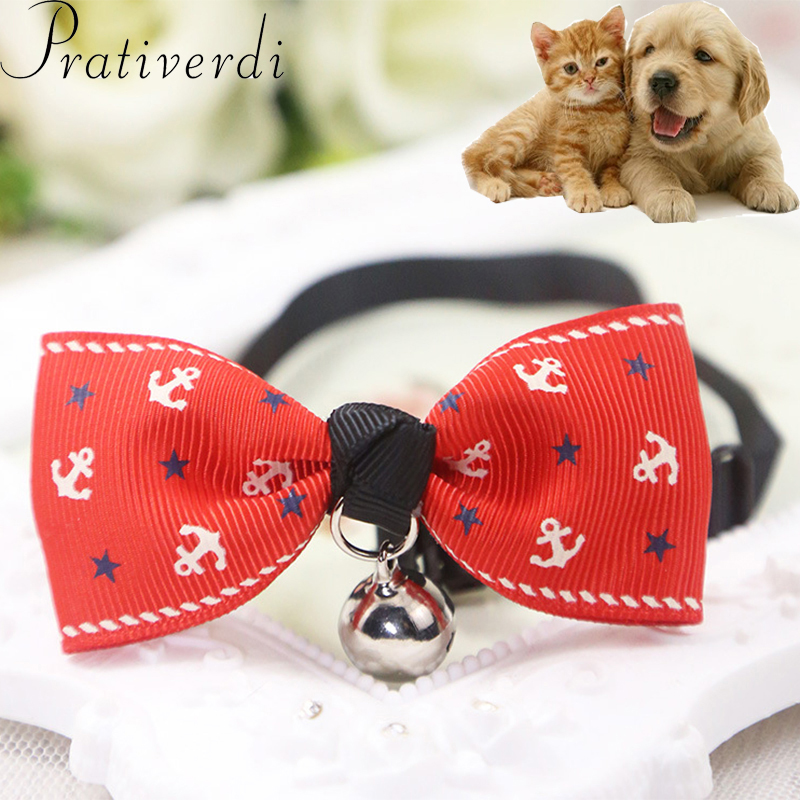 33c6a5da0 Aliexpress.com : Buy prativerdi Adjustable Bow Tie Dogs Cat Necktie  Necklace Cute Bowknot Dog Collars With Bells For Puppy Cat Pet Shop  Accessories from ...