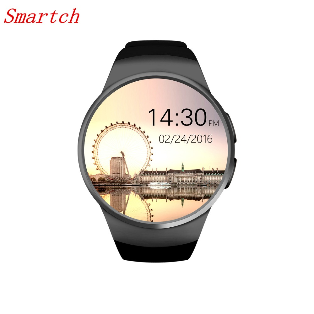 Brand Smartch KW18 Smart Watch support SIM/TF card wristwatch for apple samsung gear S2 Android OS phones