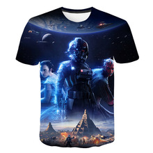 Hot summer fashion Star Wars T-shirt mans top quality custom mens printed clothing Asian size m-5 xl