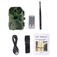 2016 Hot! Hunting Camera SG-999M Support 4G 3G GPRS 12MP LCD JPEG AVI Waterproof IP66 Multi-Language Wildlife Trail Camera