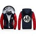 Hot New Dragonball Hoodie Son Goku Sun Wukong Winter Fleece Mens Sweatshirts Free Shipping