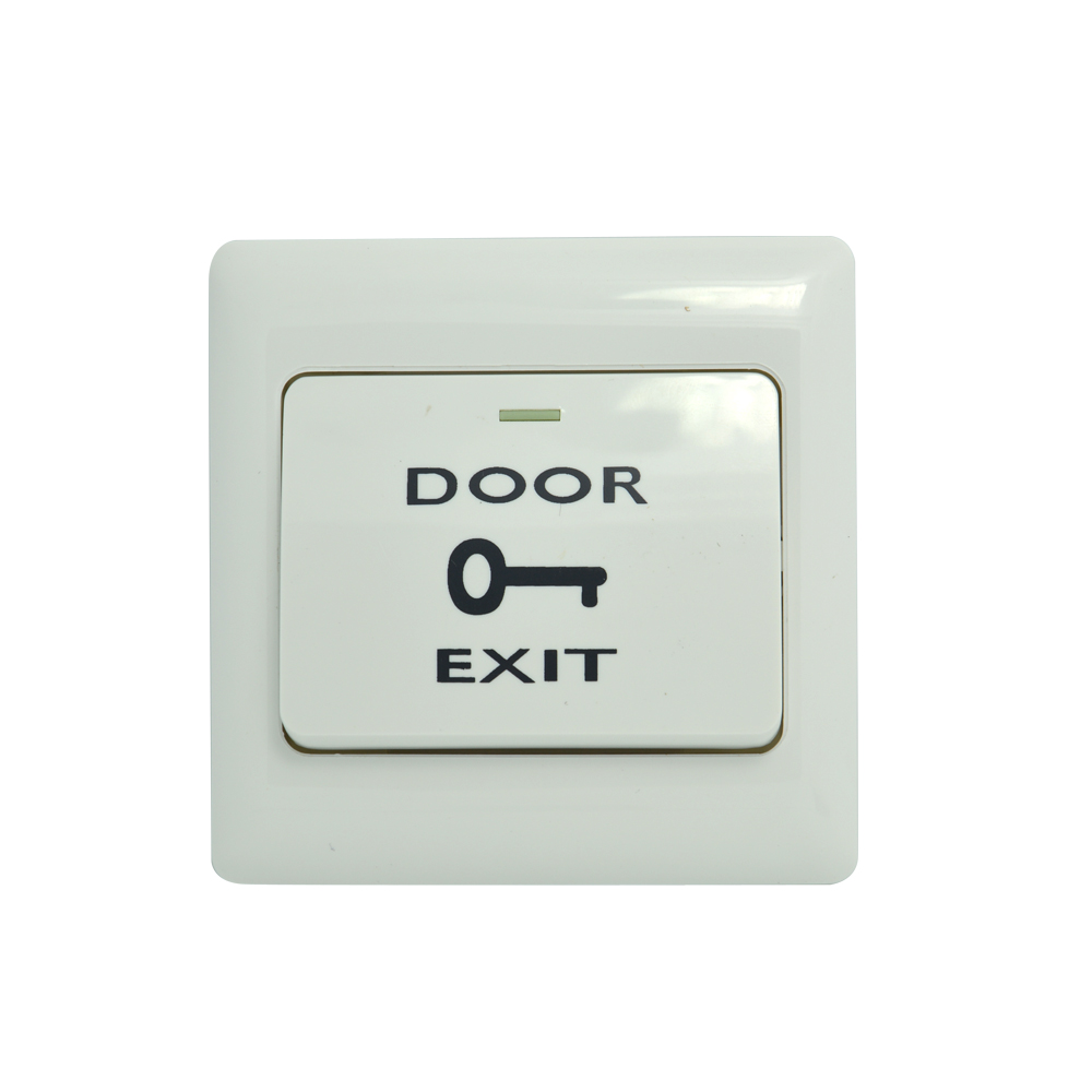 (10 PCS) Security Panic Switch Access Control System Accessories Switch Push Button Automatically Restroration Door Exit Release