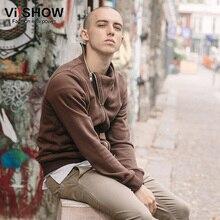 VIISHOW Brand Hoodies Men Casual Zipper Winter Clothing Coffee Mens Sweatshirt Men Jacket Hoidie Mens Social