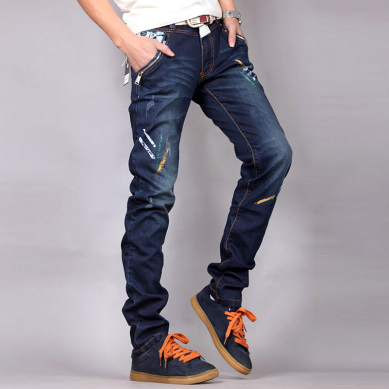 Men's spring and summer style jeans brand denim jeans high quality leisure casual Jeans