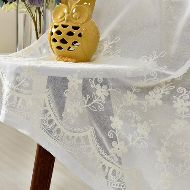 Moderne Stoffe moderne tüll stoffe polyester baumwolle bestickt blumen home