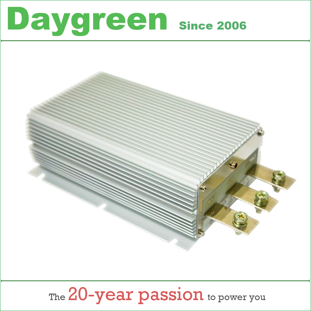 12V TO 48V 20A 1000W STEP UP BOOST MODULE CONVERTER 12VDC TO 48VDC 20AMP Voltage Regulator  Daygreen CE RoHS Certificated-in Inverters & Converters from Home Improvement    1