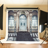 200 300cm 6 5 10ft Photography Backdrops Wedding Background Studio European Architecture Brick Ground Dark Buildings