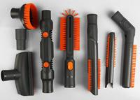 32 35mm 9pcs Tools Nozzle Valet Car Vehicle Computer Keyboards Gap Brush Kit For Haier Philips Panasonic Karcher Delmar LG Midea