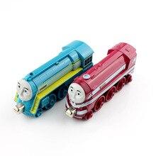 Дети Томас и Его друзья поезда мини магнитный длинные металлические модели весело свободные автомобилей магнит подарки прочный играть в игры игрушки для ребенка