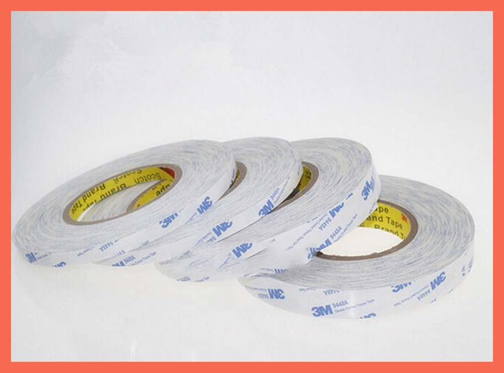 (50mm*50m),3M9448 black strong double sided adhesive tape 3mm double sided adhesive tape, mobile phone screen, special