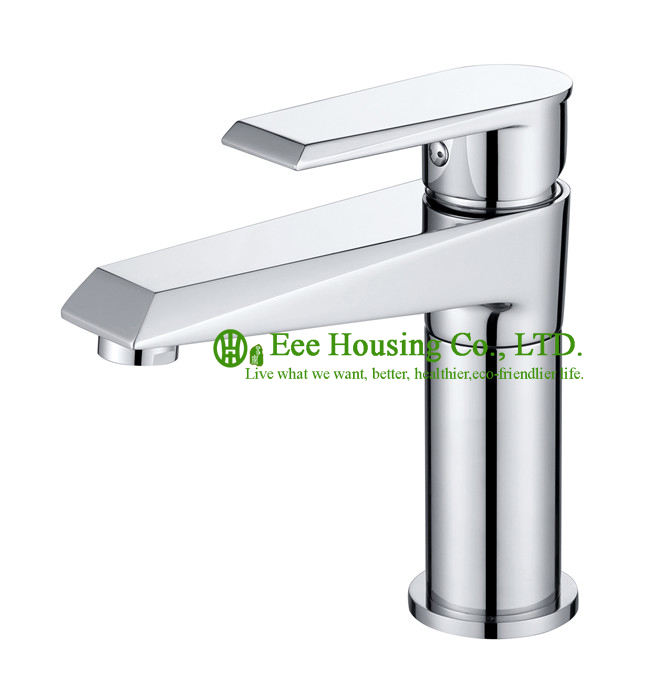 Free Shipping brass single hole basin mixer,bathroom faucet chrome finished,bathroom accessories