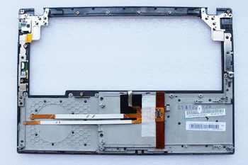 新オリジナルキーボードベゼルパームレスト IBM レノボ ThinkPad X240 タッチパッドと指紋リーダー 04 × 5180 00HT392