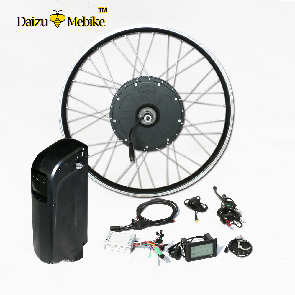 1000w E Bike Conversion Kit With 48v 10ah Battery For 26