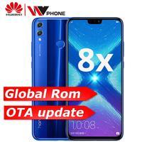 Глобальный Rom Huawe Honor 8X6,5 ''полный экран OTA обновление смартфона не 8x max мобильный телефон Android 8,1 Восьмиядерный отпечаток пальца ID