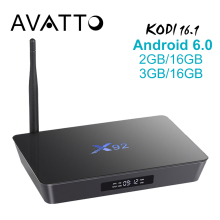 [Auténtica] X92 2 GB/16 GB Android 6.0 Smart TV Caja Amlogic S912 OCTA CPU Core Kodi 16.1 a Plena Carga 5G Wifi 4 K H.265 Set Top caja