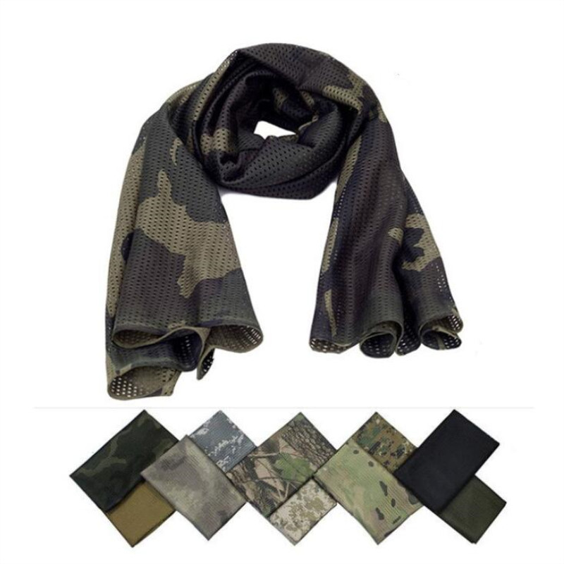 New Camouflage Scarves Cycling Hunting Scarf Army Bike Military Tactical Scarf Camouflage headscarf