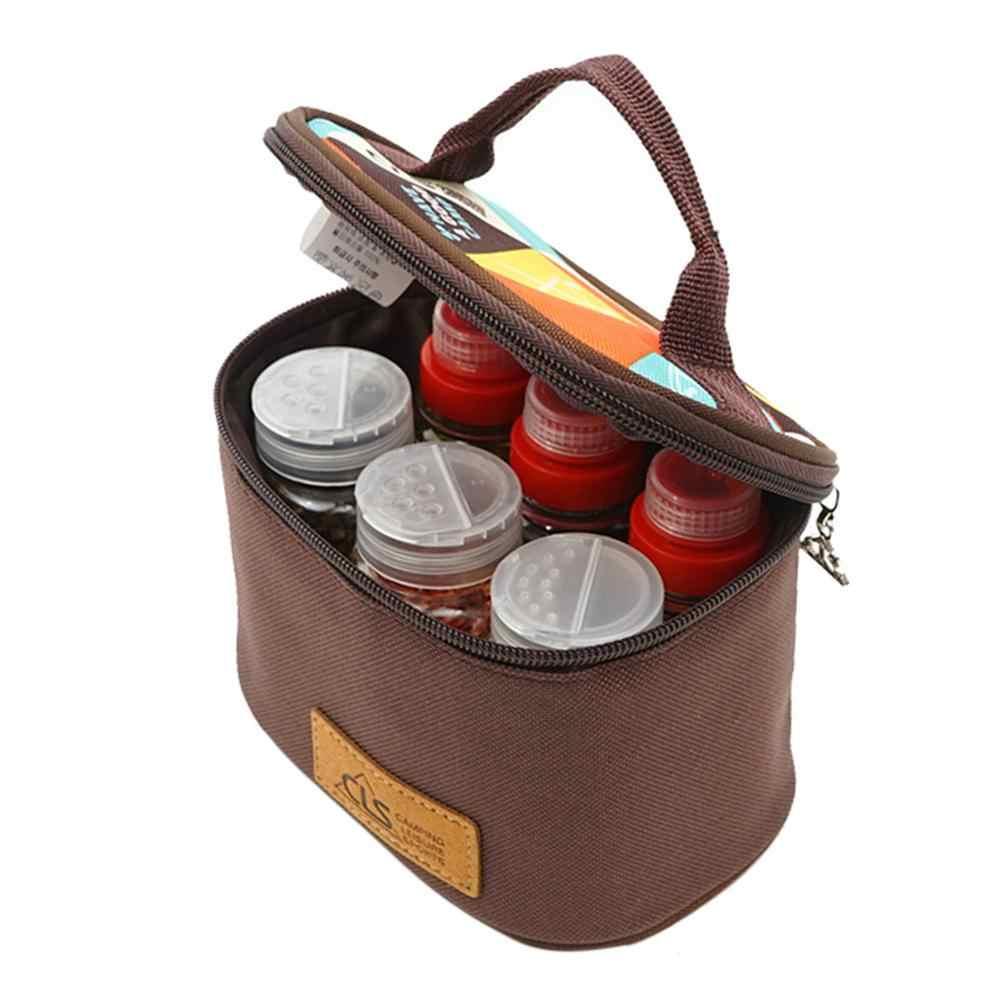 Portable Tableware Storage Oil Bottle For BBQ Picnic Outdoor bottl IOJ 3C