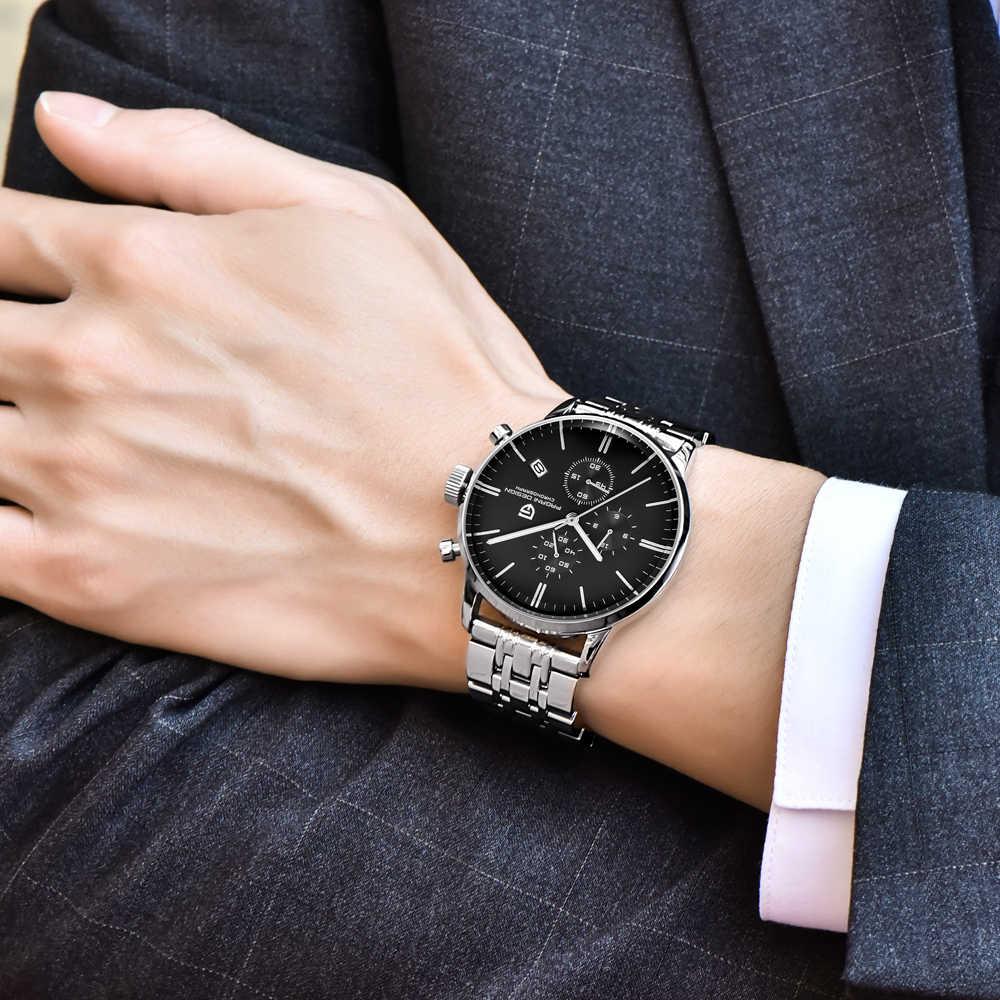 Montre décontractée à la mode hommes étanche 30 m montres à Quartz Simple marque de luxe PAGANI DESIGN relojes hombre 2018 relogio masculino