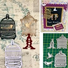 Birdcage Set Metal Cutting Dies Scrapbooking Dies bird Dies DIY Album Paper Card Decorative 1 set dies