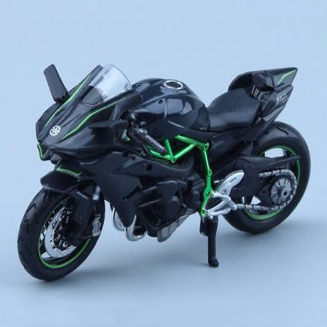 2017 NEW Kawasaki H2R Diecast Motorcycle Model 1/18 Scale Maisto W/Removable Motorbike Model Gifts Collections