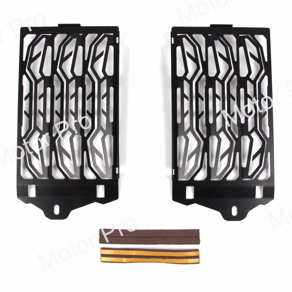 Для BMW R1200GS 2013 2014 2015 2016 Р 1200 ГС Решетка радиатора, Защитная Решетка радиатора крышка предохранителя серебристый и черный