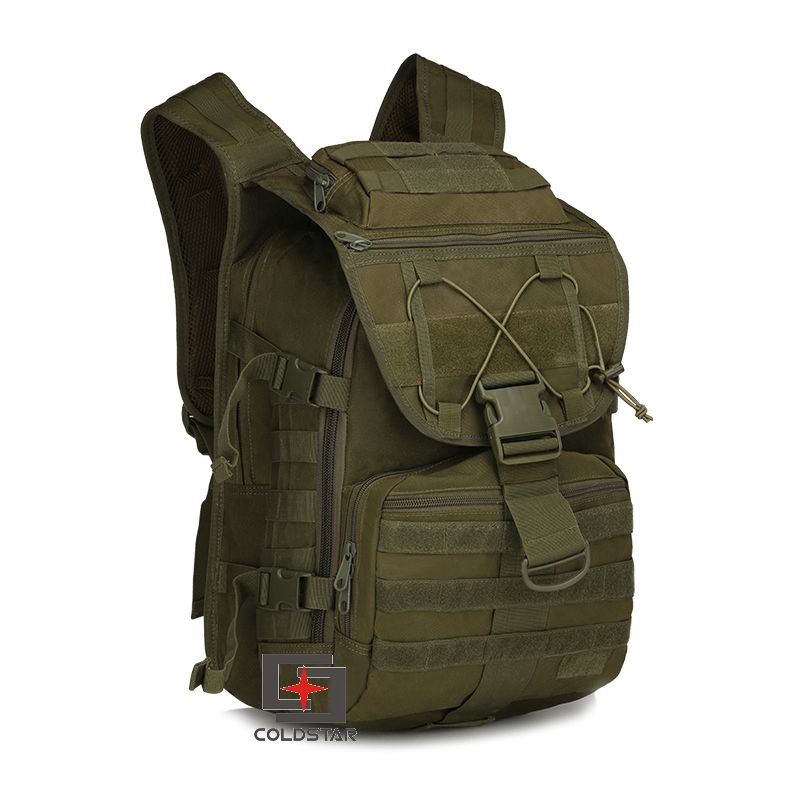 Army Green Multicam Camping Bags Unisex Outdoor Waterproof Molle Bagpack Military 3P Tactical Backpack Big Assault