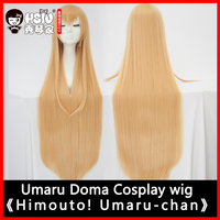 HSIU NEW High Quality HIMOUTO UMARU CHAN Cosplay Wig UMARU DOMA Costume Play Wigs Halloween Costumes