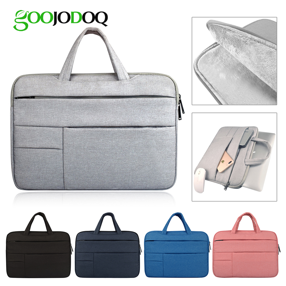 Laptop Sleeve Case Bag for Macbook Air 11 Air 13 Pro 13 Pro 15'' New Retina 12 13 15 Cover Notebook Handbag 14 13.315.4 15.6 new notebook case bag for macbook air 13 pro 15 case retina 13 3 15 4 cover women men laptop bag 13 15 inch with power bag