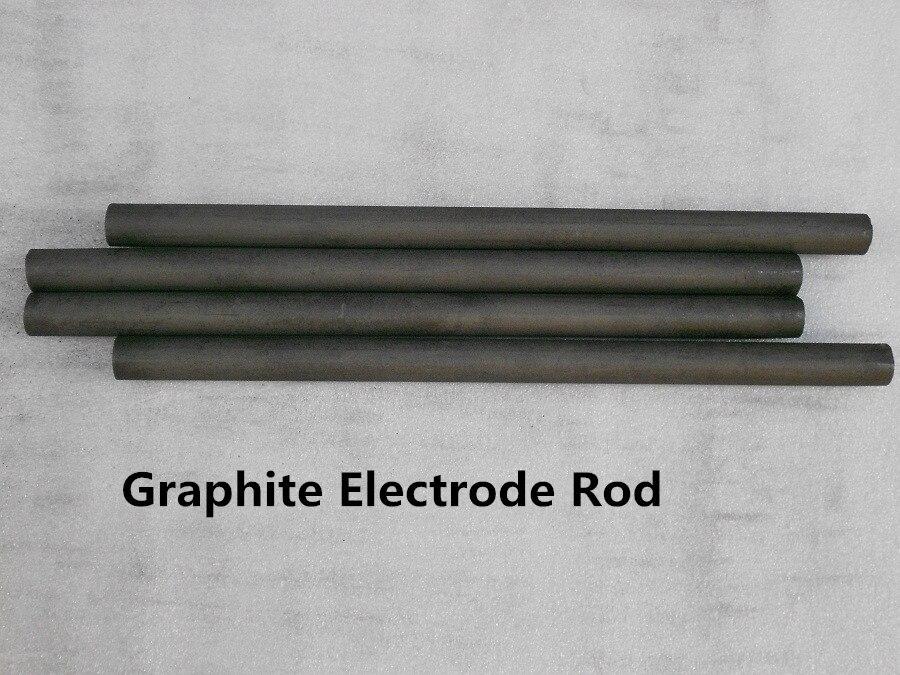 Dia.8*300mm  Artificial graphite rod 13pcs a lot /Sintered Artificial high purity graphite rod/graphite electrode rod