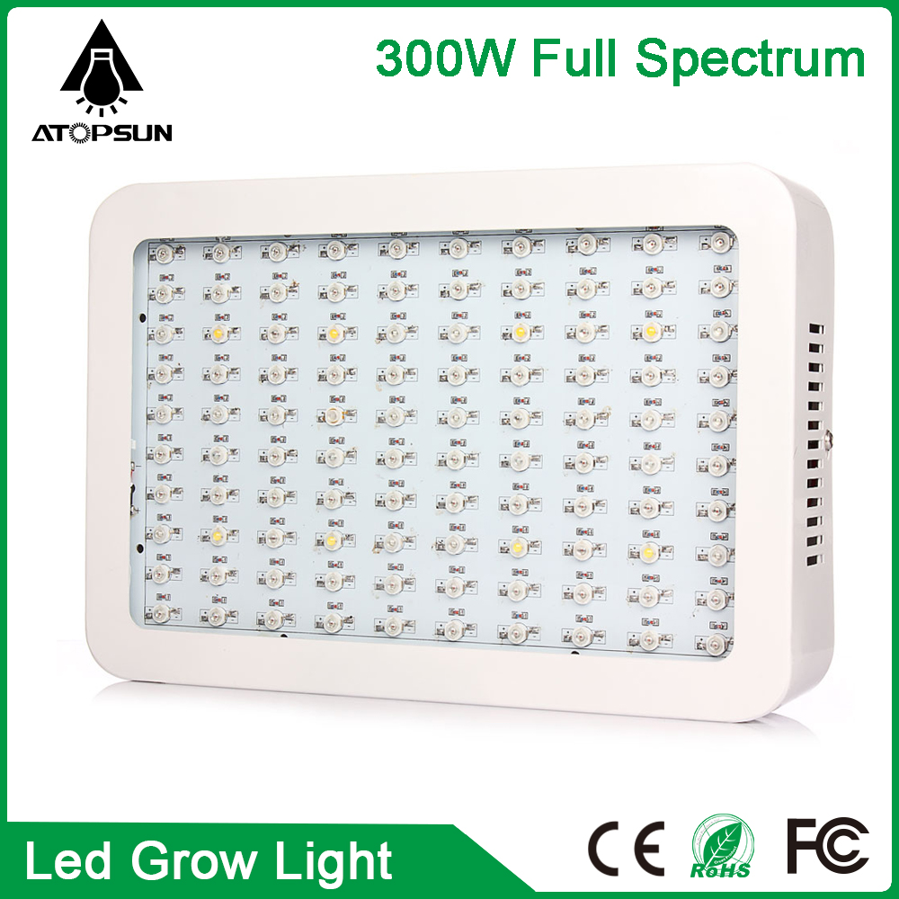 1pcs Full Spectrum 300W  Led Grow Light  Led Aquarium Lighting for Flower plant Hydroponics System AC85-265V Led lamp for plant 90w ufo led grow light 90 pcs leds for hydroponics lighting dropshipping 90w led grow light 90w plants lamp free shipping