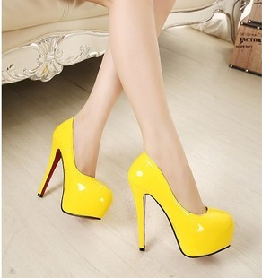 Red bottom high heels sexy