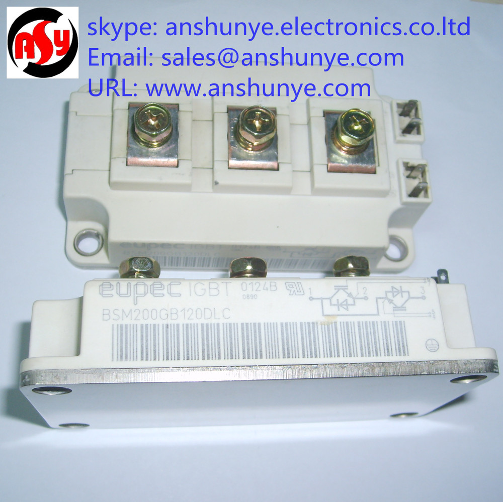 BSM200GB120DLC  Electric IPM IGBT Transistor modules fp75r12kt4 fp100r12kt4 7mbr75vn120 50 genuine 100% igbt modules