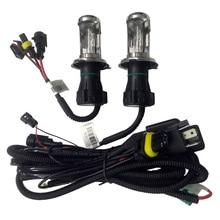 35W 55W DC 12V H4 Bi Xenon HID Control line 9004 9007 H13 Hi Lo Beam auto xenon lamps