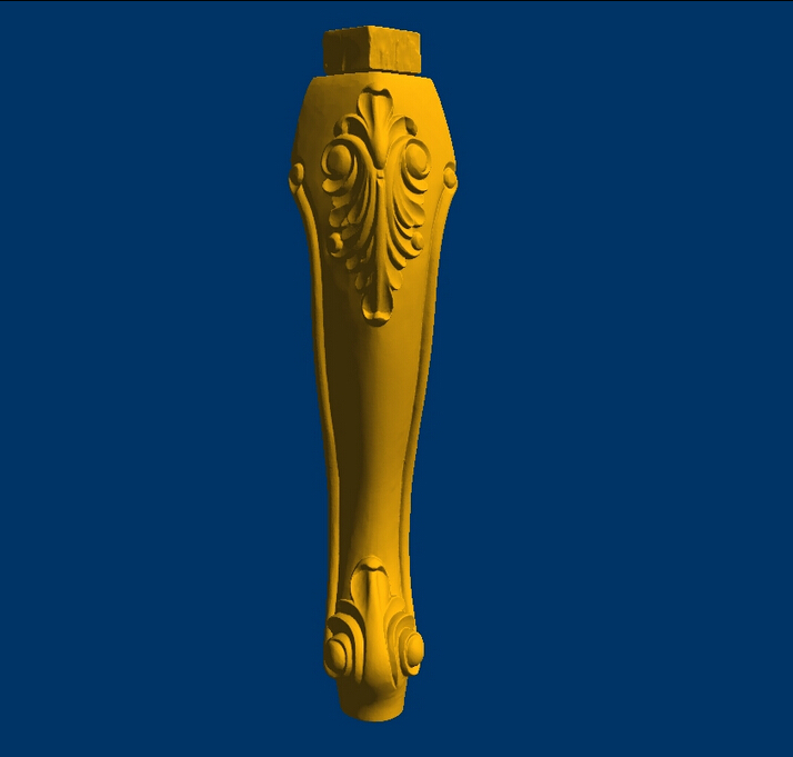 3D model STL Dressing table leg Western Furniture leg--8 martyrs faith hope and love and their mother sophia 3d model relief figure stl format religion for cnc in stl file format