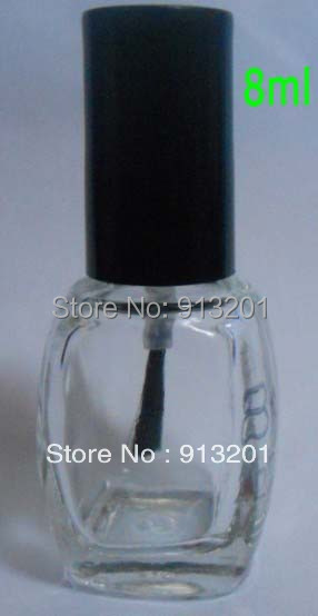 Clear 8ml Empty Mini Nail Polish Bottle Refillable Oil Whole On Aliexpress Alibaba Group