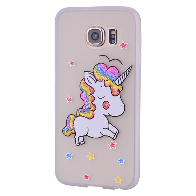 coque licorne galaxy s6