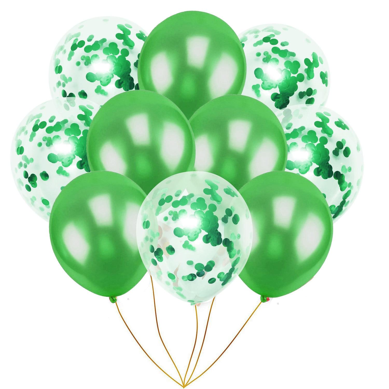 10 шт./упак. надувной шарик игрушка 10 дюймов на день рождения, свадьбу, розовый шар цвета розового золота надувные игрушки Фотофон с изображением мультяшной шляпы Детская Вечеринка игрушечная шапка - Цвет: green