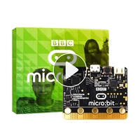 BBC Micro Bit NRF51822 Bluetooth ARM Cortex M0 25 LED Light A Computer For Kids Beginners